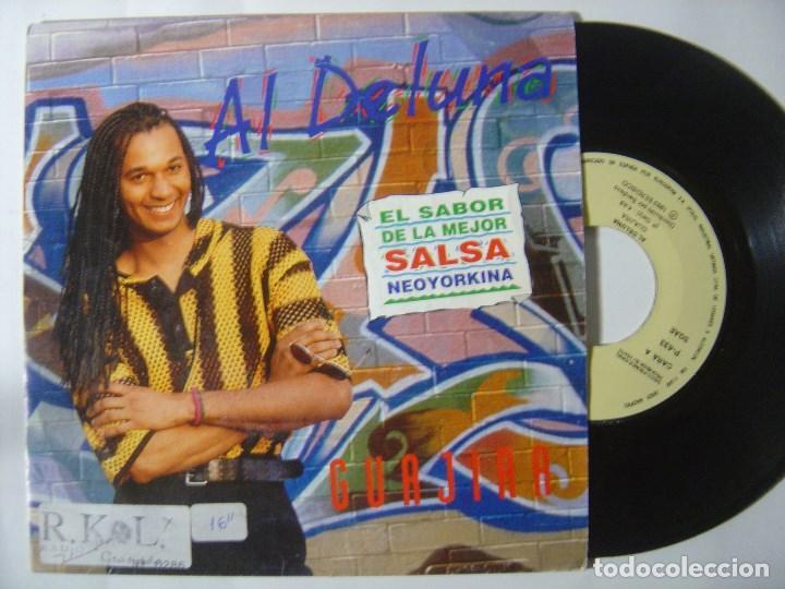 AL DE LUNA - GUAJIRA - SINGLE PROMOCIONAL 1993 - ZAFIRO (Música - Discos - Singles Vinilo - Grupos y Solistas de latinoamérica)