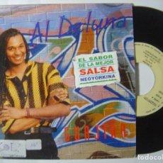 Discos de vinilo: AL DE LUNA - GUAJIRA - SINGLE PROMOCIONAL 1993 - ZAFIRO. Lote 145635510