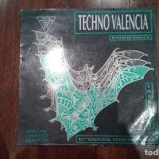 Discos de vinilo: TECHNO VALENCIA VOLUMEN 1-LP. Lote 193966335