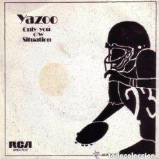 Discos de vinilo: YAZOO - ONLY YOU - SINGLE SPAIN 1982. Lote 145646782