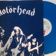 Discos de vinilo: MOTORHEAD. BEER DRINKERS & HELL RAISERS. BIG BEAT RECORDS (SWT 61), UK 1980 MAXI-LP PICTURE BLUE . Lote 145653390