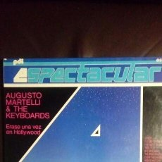 Disques de vinyle: AUGUSTO MARTELLI & THE KEYBOARDS. Lote 145656189