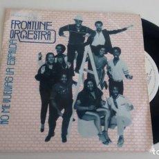 Discos de vinilo: SINGLE (VINILO)-PROMOCION- DE DE FRONTLINE ORCHESTRA AÑOS 80. Lote 145677818