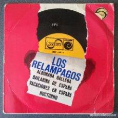 Discos de vinilo: LOS RELÁMPAGOS ALBORADA GALLEGA. Lote 145689270