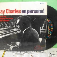 Discos de vinilo: RAY CHARLES WHAT'D I SAY + 2 EP SPAIN 1965 PDELUXE. Lote 145689502