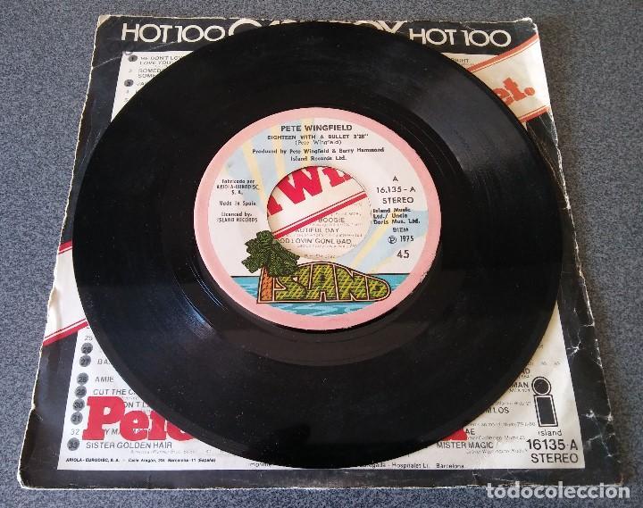 Discos de vinilo: Pete Wingfield Eighteen With a Bullet - Foto 2 - 145689918