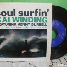 Discos de vinilo: ORQUESTA KAI WINDING (K.BURRELL) MORE / PIPELINE + 2 EP SPAIN 1963 PDELUXE. Lote 145692006