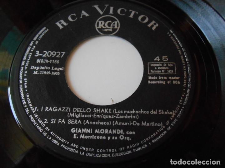 Discos de vinilo: GIANNI MORANDI, EP, SE NON AVESSI PIU´ TE + 3, AÑO 1965 - Foto 3 - 145700882