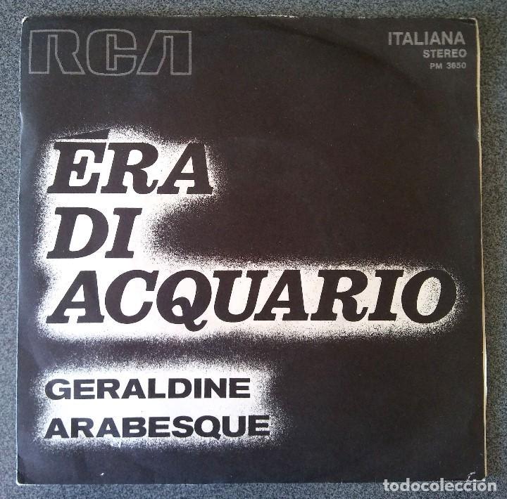ERA DI ACQUARIO GERALDINE (Música - Discos de Vinilo - EPs - Pop - Rock Extranjero de los 70)