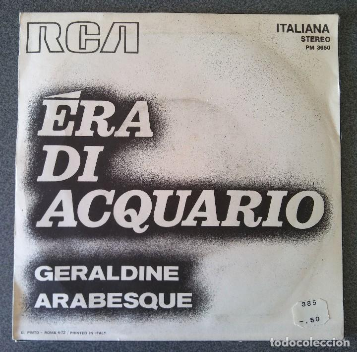 Discos de vinilo: Era Di Acquario Geraldine - Foto 3 - 145702418