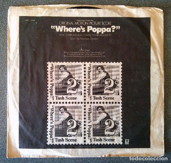 WHERE S POPPA? (Música - Discos de Vinilo - EPs - Bandas Sonoras y Actores)