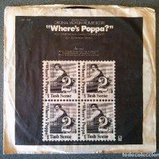 Discos de vinilo: WHERE S POPPA? . Lote 145708062