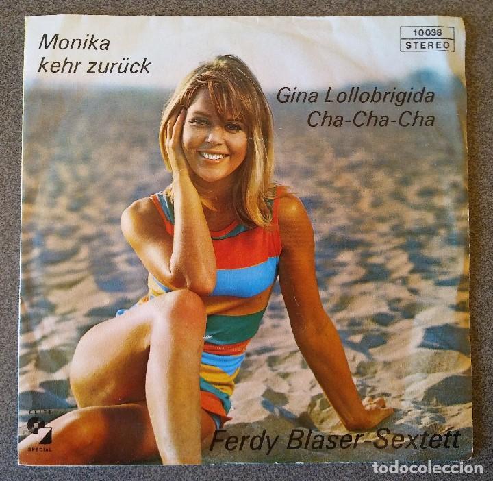 FERDY BLASER SEXTETT MONIKA KEHR ZURÜCK (Música - Discos de Vinilo - EPs - Pop - Rock Internacional de los 70)