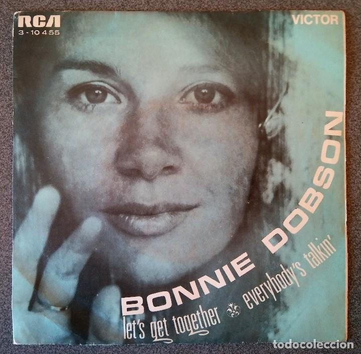 BONNIE DOBSON LET S GET TOGETHER (Música - Discos de Vinilo - EPs - Country y Folk)