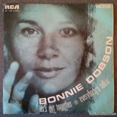Discos de vinilo: BONNIE DOBSON LET S GET TOGETHER. Lote 145713582