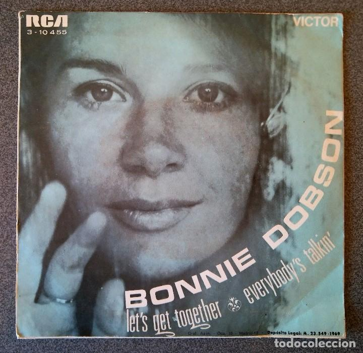 Discos de vinilo: Bonnie Dobson Let s Get Together - Foto 3 - 145713582