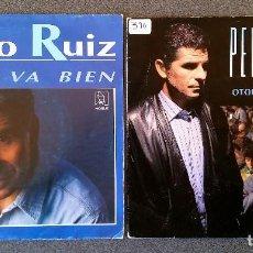 Discos de vinilo: PEDRO RUIZ TODO VA BIEN OTOÑO EN BARCELONA. Lote 145713698