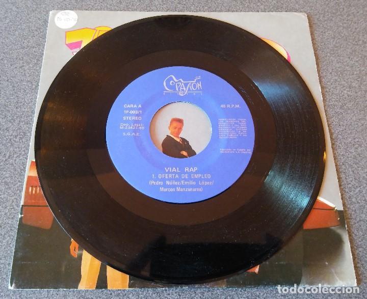 Discos de vinilo: Vial Rap Oferta de Empleo - Foto 2 - 145713862