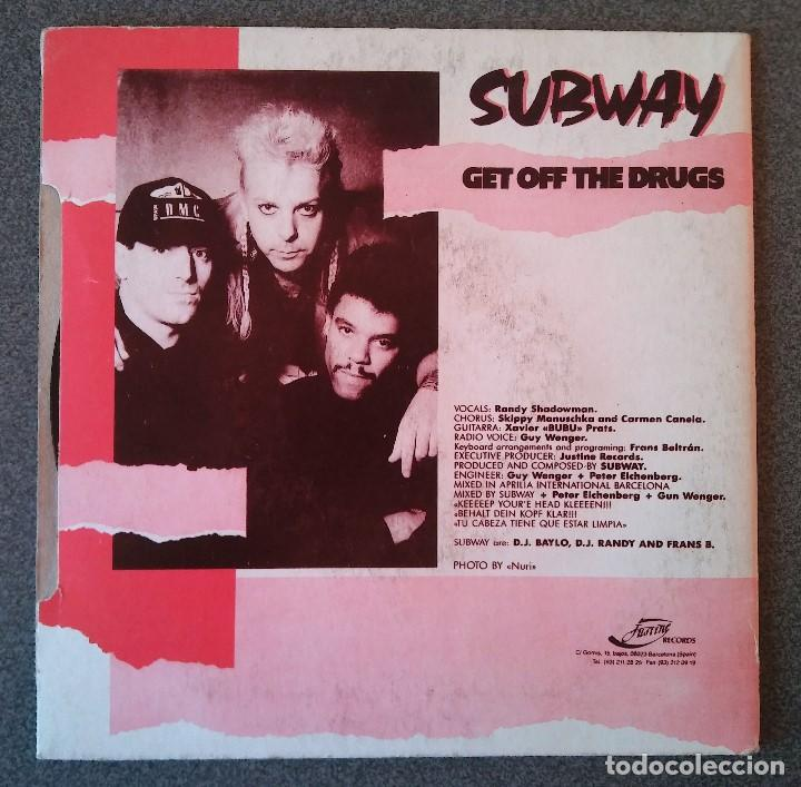 Discos de vinilo: Subway Get Off The Drugs - Foto 3 - 145714694