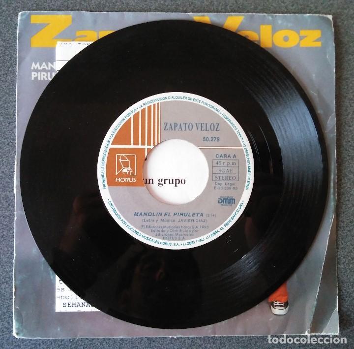 Discos de vinilo: Zapato Veloz Manolin el Piruleta - Foto 2 - 145714954