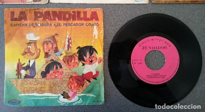 Discos de vinilo: Lote singles Video Kids Walt Disney Enrique y Ana La Canción de los Pitufos La Pandilla - Foto 6 - 145715114