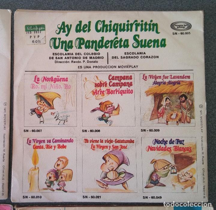Discos de vinilo: Lote singles Video Kids Walt Disney Enrique y Ana La Canción de los Pitufos La Pandilla - Foto 9 - 145715114