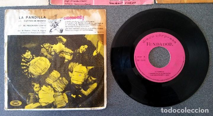 Discos de vinilo: Lote singles Video Kids Walt Disney Enrique y Ana La Canción de los Pitufos La Pandilla - Foto 12 - 145715114