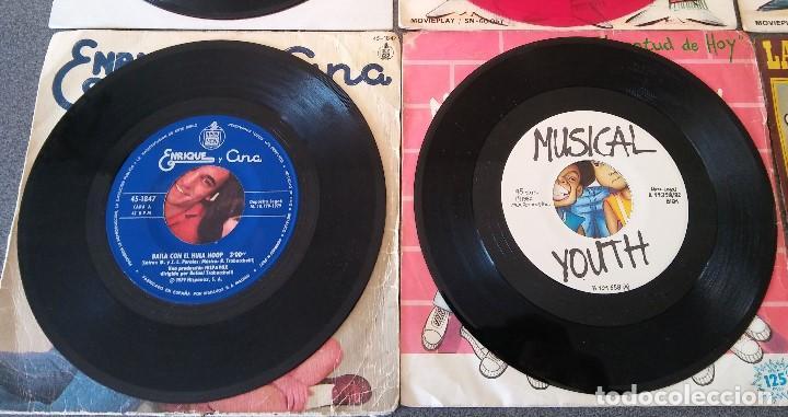 Discos de vinilo: Lote singles Video Kids Walt Disney Enrique y Ana La Canción de los Pitufos La Pandilla - Foto 15 - 145715114