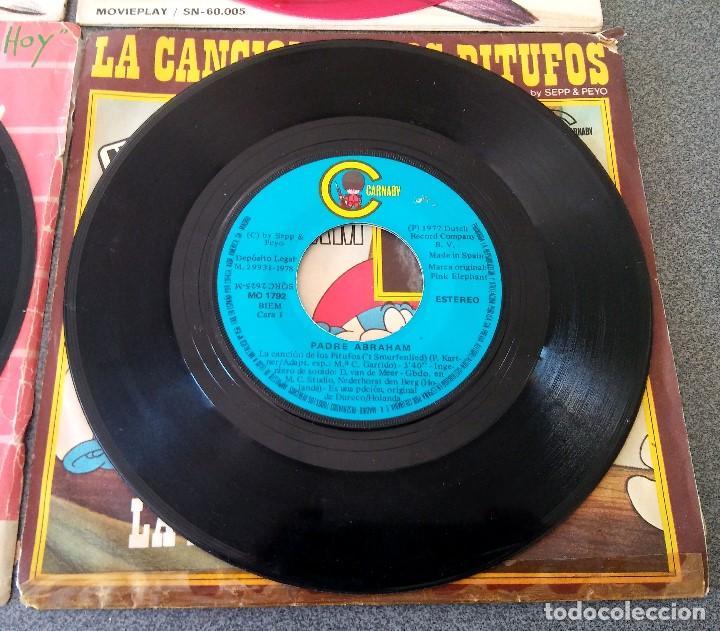 Discos de vinilo: Lote singles Video Kids Walt Disney Enrique y Ana La Canción de los Pitufos La Pandilla - Foto 16 - 145715114