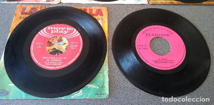 Discos de vinilo: Lote singles Video Kids Walt Disney Enrique y Ana La Canción de los Pitufos La Pandilla - Foto 17 - 145715114