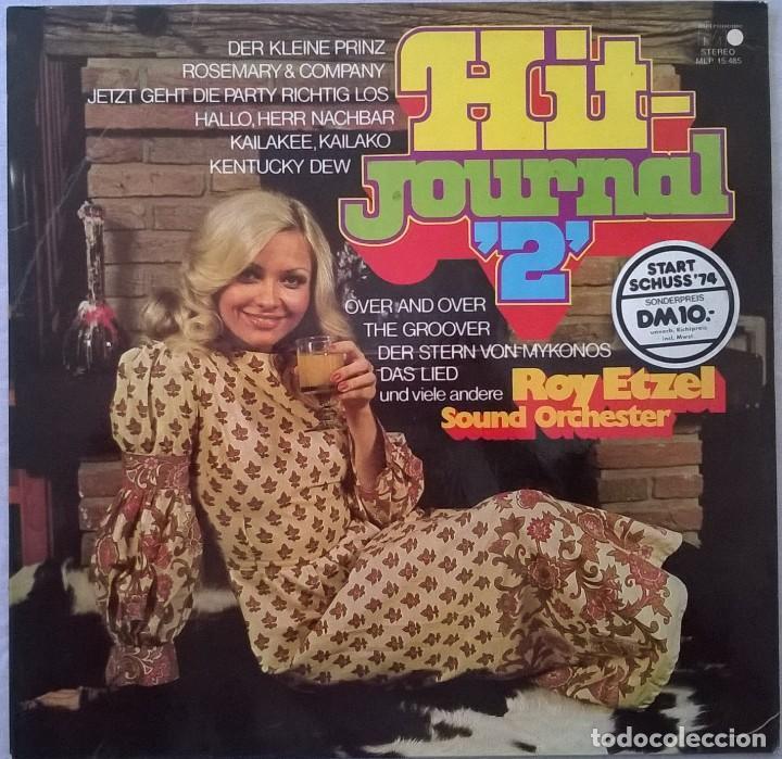 ROY ETZEL SOUND ORCHESTER-HIT-JOURNAL 2, METRONOME-MLP 15.485 (Música - Discos - LP Vinilo - Pop - Rock - Extranjero de los 70)