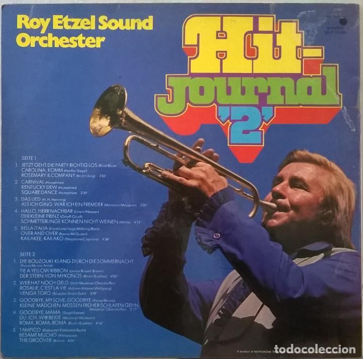 Discos de vinilo: Roy Etzel Sound Orchester-Hit-Journal 2, Metronome-MLP 15.485 - Foto 2 - 145725850