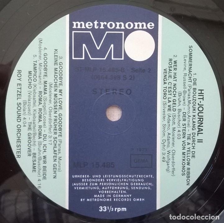 Discos de vinilo: Roy Etzel Sound Orchester-Hit-Journal 2, Metronome-MLP 15.485 - Foto 3 - 145725850