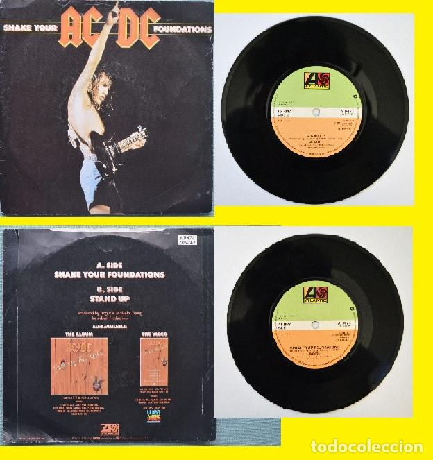 Ac Dc Shake Your Foundations Stand Up 1985 Comprar Discos