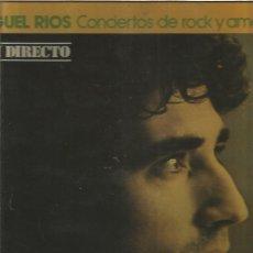 Discos de vinilo: MIGUEL RIOS CONCIERTOS DE ROCK. Lote 145736558
