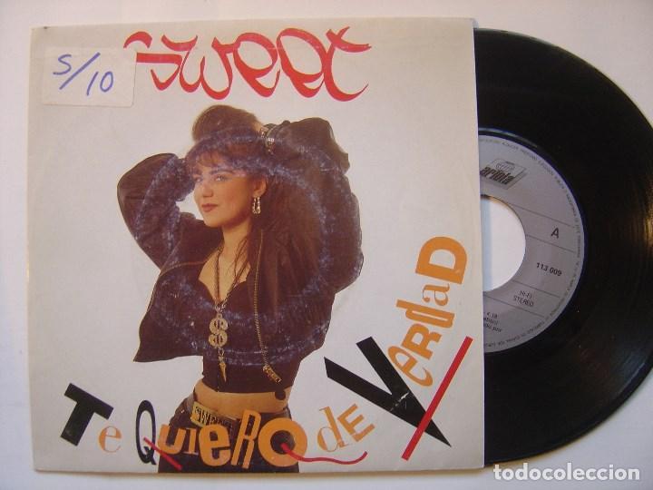 SWEET - TE QUIERO DE VERDAD - SINGLE 1989 - ARIOLA (Música - Discos - Singles Vinilo - Rap / Hip Hop)