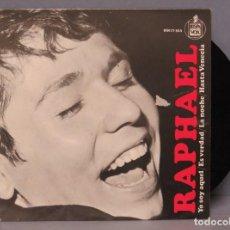 Discos de vinilo: EP. RAPHAEL. YO SOY AQUEL +3. Lote 145757898