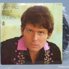 Discos de vinilo: EP. RAPHAEL. BALADA DE LA TROMPETA. Lote 145757962