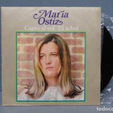 Discos de vinilo: SINGLE. MARIA OSTIZ. CANTO AL SOL . Lote 145758990