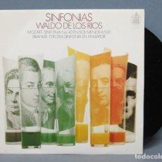 Discos de vinilo: SINGLE. WALDO DE LOS RIOS. SINFONIAS. Lote 145763178