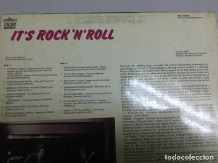 Discos de vinilo: Its rock n roll - original tracks from the radio 1 - Foto 3 - 145769746