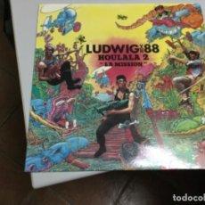 Discos de vinilo: LUDWIG VON 88- HOULALA 2- LA MISSION . Lote 145770034