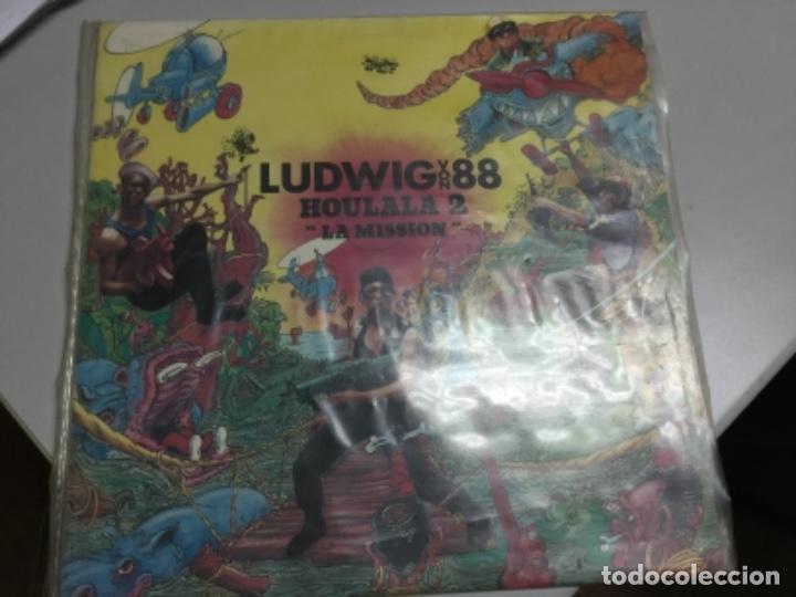 Discos de vinilo: Ludwig von 88- Houlala 2- la mission - Foto 4 - 145770034