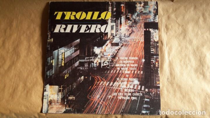 RIVERO / TROILO - ANÍBAL TROILO PICHUCO Y SU ORQUESTA TÍPICA - CANTA EDMUNDO RIVERO. TANGOS. (Música - Discos - LP Vinilo - Étnicas y Músicas del Mundo)