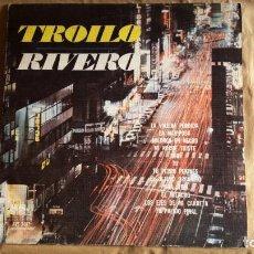 Discos de vinilo: RIVERO / TROILO - ANÍBAL TROILO PICHUCO Y SU ORQUESTA TÍPICA - CANTA EDMUNDO RIVERO. TANGOS.. Lote 145779962