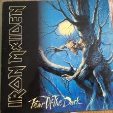 Discos de vinilo: IRON MAIDEN - FEAR OF THE DARK. Lote 145780278