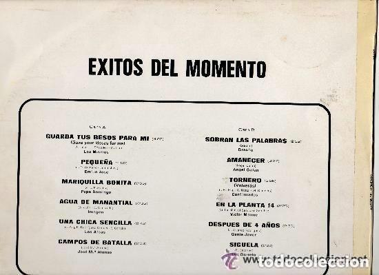Discos de vinilo: EXITOS DEL MOMENTO - LP BELTER 1976 - Foto 2 - 145790074