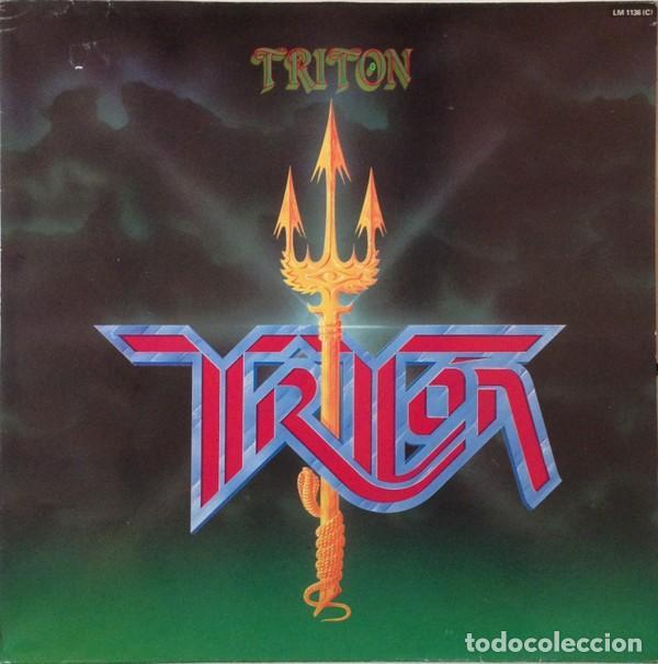 TRITON – TRITON - LP VINYL 1985 SPAIN ( SANGRE AZUL, JUPITER, CROM, MURO, LEIZE, THOR) (Música - Discos - LP Vinilo - Heavy - Metal)