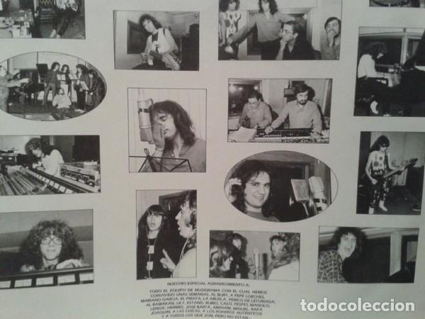 Discos de vinilo: Triton – Triton - LP VINYL 1985 SPAIN ( Sangre Azul, Jupiter, Crom, Muro, Leize, Thor) - Foto 4 - 145793006