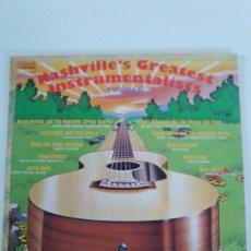 Discos de vinilo: NASHVILLE GREATEST INSTRUMENTALISTS VOL II ( 1974 RCA USA ) JERRY REED CHET ATKINS DOUG KERSHAW RUST. Lote 145797570